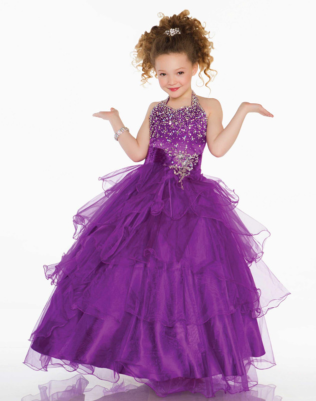 2016 New Cute Baby Dress Kids Infant Little Girls Party Formal
